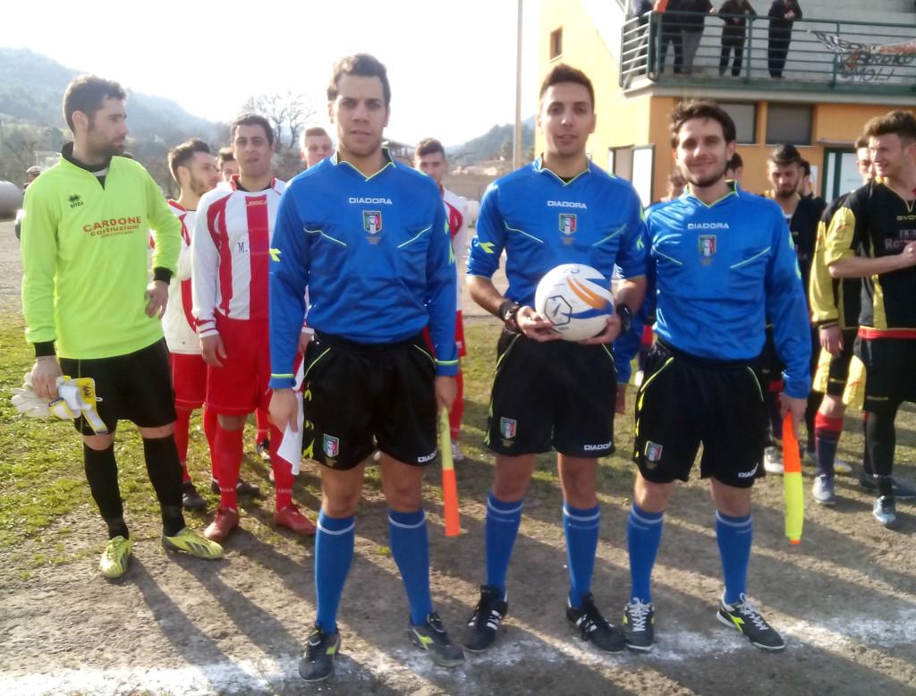 Terna arbitrale: Balbi di Avellino (assistenti Cappiello e Santochirico di Matera)