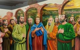 L'artista D'Acunzo arricchisce con i suoi quadri la chiesa del Buon Pastore di Policoro