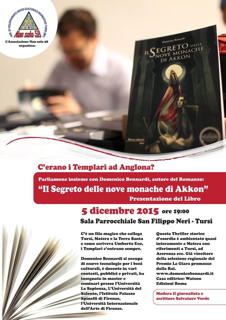 Il segreto delle nove monache di Akkon a Tursi