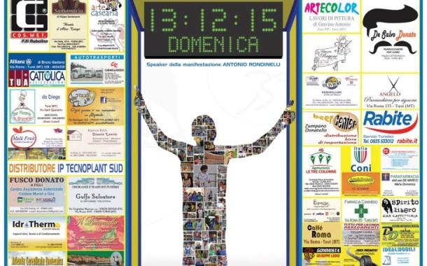 XXIV edizione del Giro Podistico Tursitano- XI trofeo Avis – V Memorial Vito Gravino