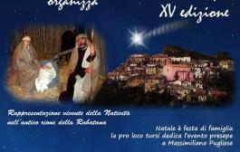 Evento Presepe, XV edizione a Tursi, nella Rabatana: 26-27-28 dicembre. ore 16-21,30