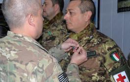 Decorazione al merito per il capitano Giuseppe D'Armento, di Nova Siri