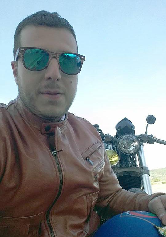 Gianpiero De Simone, presidente del moto club I Rimappati di Tursi