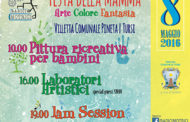 VISIONI URBANE per la festa della Mamma a Tursi, 8 maggio, dalle ore 10, nella villetta comunale della pineta