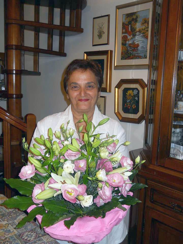La maestra Maria Grazia Salerno