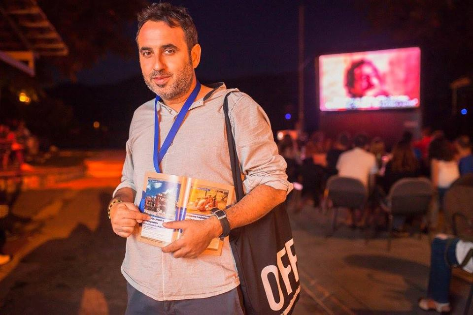 GIUSEPPE TUMINO, regista e documentarista, anima  e direttore di CORTOSPLASH