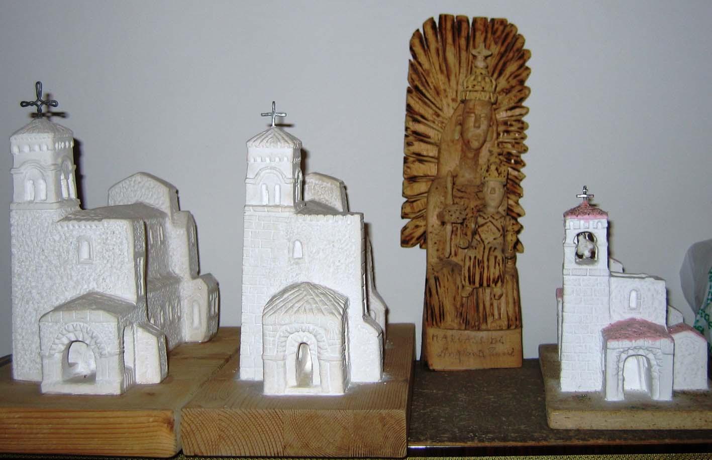 Alcune sculture di Angelo Ligorio