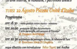 Tursi, lunedì 22 agosto, incontro dibattito sulle aree interne rabatane e patrimonio Unesco. Associazione ARABAS, idee e progetti per valorizzare antichi borghi.