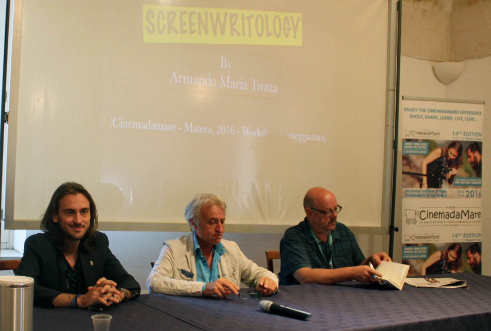 Production Meeting a Matera: Trotta, Rina e Vranckx
