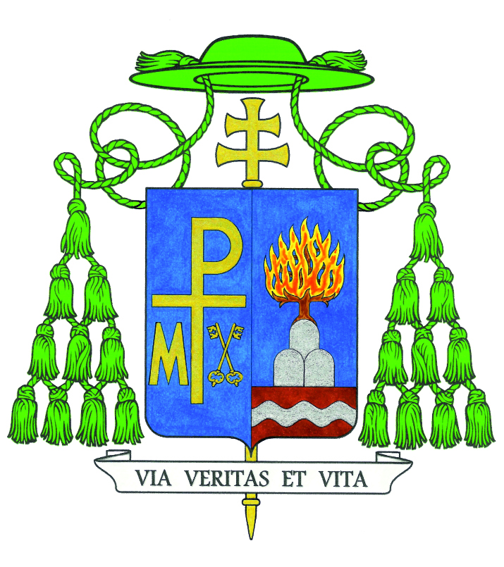 Stemma episcopale di mons. Sirufo