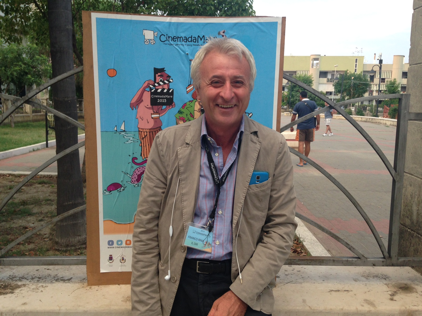 Antonio Calbi, direttore del Teatro di Roma-Teatro Nazionale, grande protagonista a CinemadaMare 2016