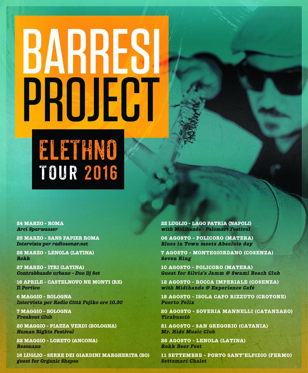 Barresi Project, locandina