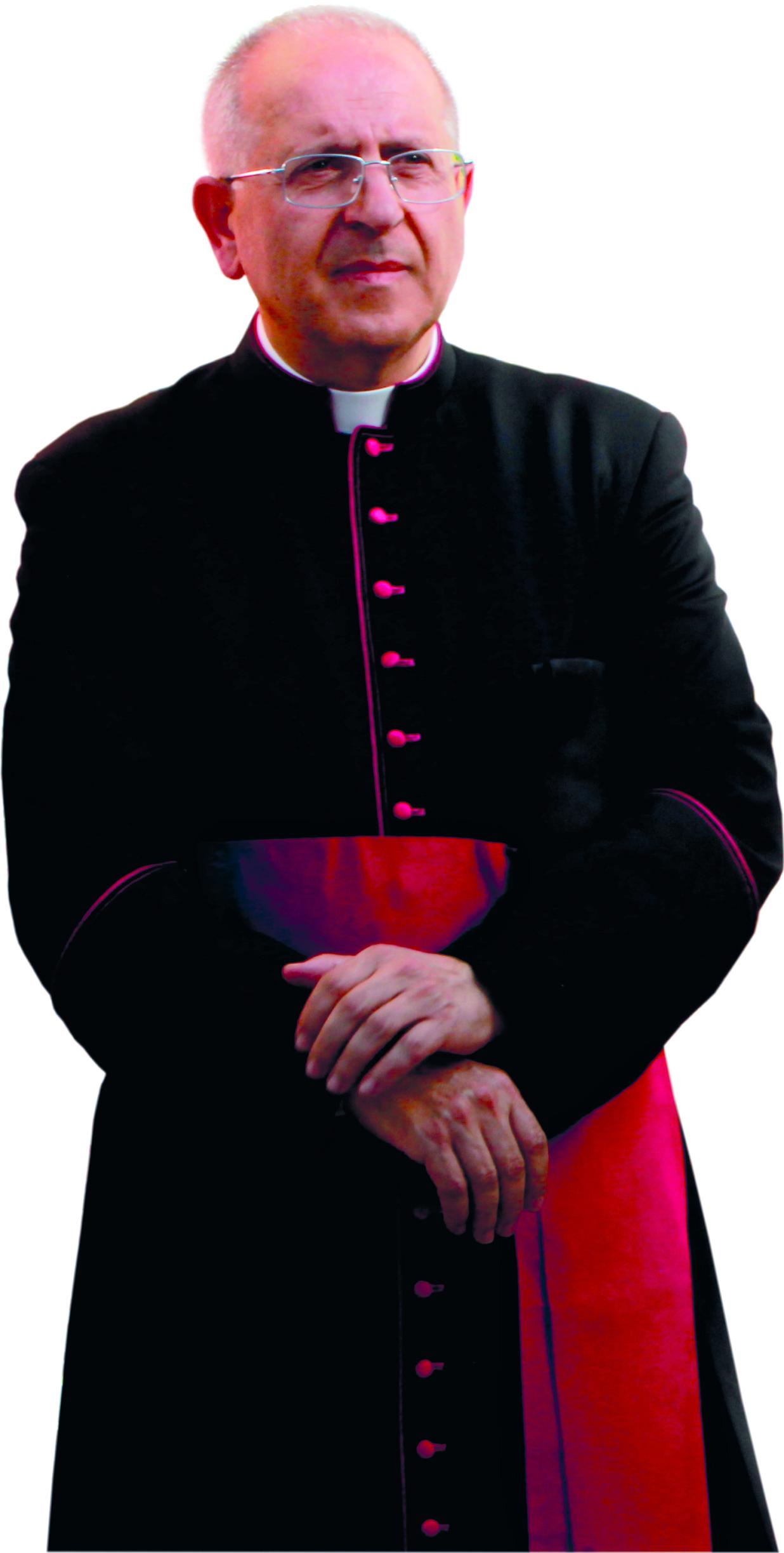Mons. Francesco Sirufo, nuovo arcivescovo di Acerenza