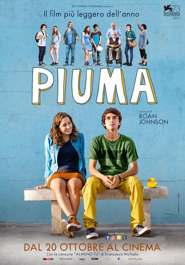 "Locandina del film ""Piuma"""