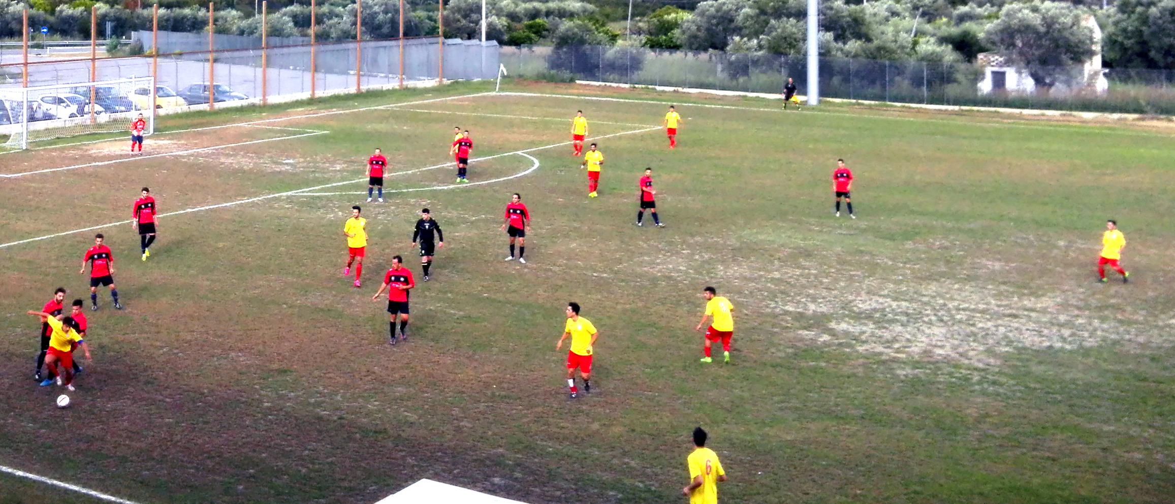 TURSI CALCIO 2008 - SALANDRA  3-1. A quattro punti dalla capolista,  i tursitani ne hanno 8 e sono imbattuti alla quarta giornata, con otto gol fatti e tre subiti*