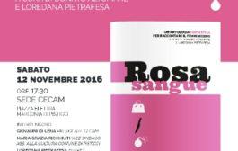 """AL CE.C.A.M  DI MARCONIA PRESENTAZIONE DI """"ROSA SANGUE"""" ANTOLOGIA FANTASTICA PER RACCONTARE IL FEMMINICIDIO"""