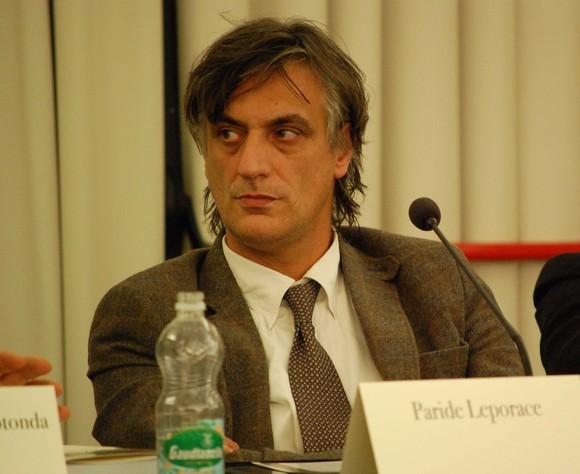 Paride Leporace, direttore della Fondazione LFC