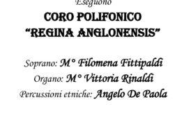 """ANNULLATO PER IL MALTEMPO – In cattedrale, domenica 8 gennaio, alle ore 19, il concerto """"Vent'anni di storia locale 1997/2017"""" della Corale polifonica """"Regina Anglonensis"""""""