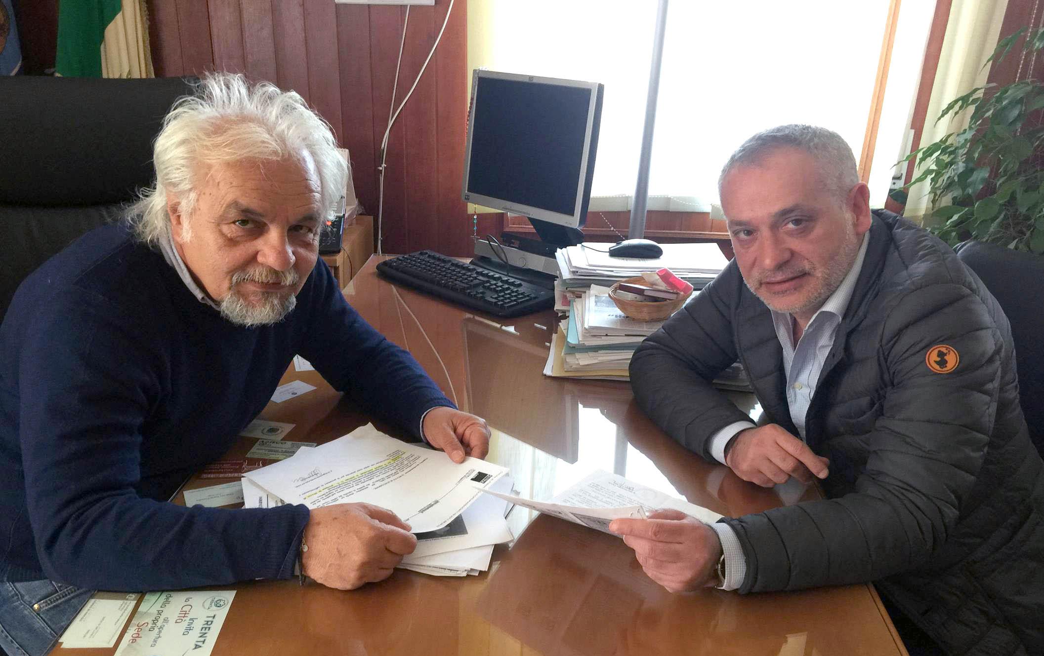 """Policoro, Amministrative 2017, il sindaco Leone: """"Importante intesa con l'avvocato Vinci"""""""