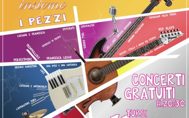 """""""V per Vito"""", settima edizione dell'evento musicale, con concerti e workshop. Tre serate tra Tursi e Policoro"""