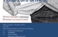 Incontro dibattito sul sovraindebitamento: Se potessi avere mille euro al mese.