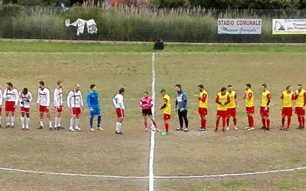 Tursi – Tricarico 2-1, ottava giornata di Prima categoria, girone B. Tursitani in testa al campionato