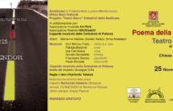 """Nella Cattedrale di Tursi, domenica 25 novembre, ore 19,30,  lo spettacolo  itinerante """"Poema della Croce. Teatro Sacro di Alda Merini"""", ideato e diretto da don Vitantonio Telesca"""