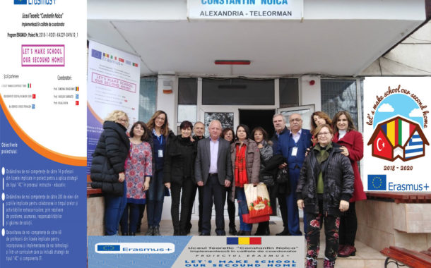 "Docenti dell'Itset di Tursi in Romania per il progetto ""Let's Make School our Second Home"""