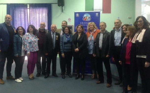"""Progetto Erasmus all'Istituto Tecnico """"M. Capitolo"""" di Tursi, con studenti della Grecia, Romania e Turchia"""