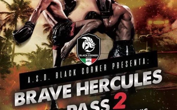 "A Rocca Imperiale (CS), domenica 21 luglio, ""Muay Thai Summer – Brave Hercules Pass 2"" – Cintura italiana BTF Cat. 58 Kg, tra Michael Oriolo (Black Corner) Vs Ahmed El Asar (Pookakupt Academy Milano)"
