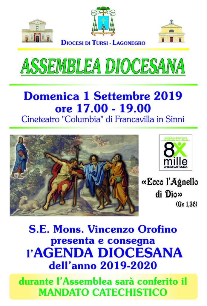 Assemblea diocesana all'inizio dell'Anno pastorale 2019-2020