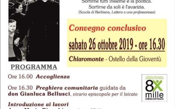 """Convegno conclusivo dell'Itinerario di formazione politica """"Costruttori di bene comune"""""""