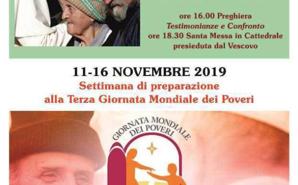Domenica 17 novembre, Terza Giornata Mondiale dei Poveri. Si conclude a Francavilla In Sinni (PZ) la settimana di preparazione