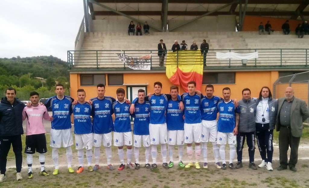 TURSI - MONTESCAGLIOSO 0-1 (Campionato di Prima categoria, girone B)