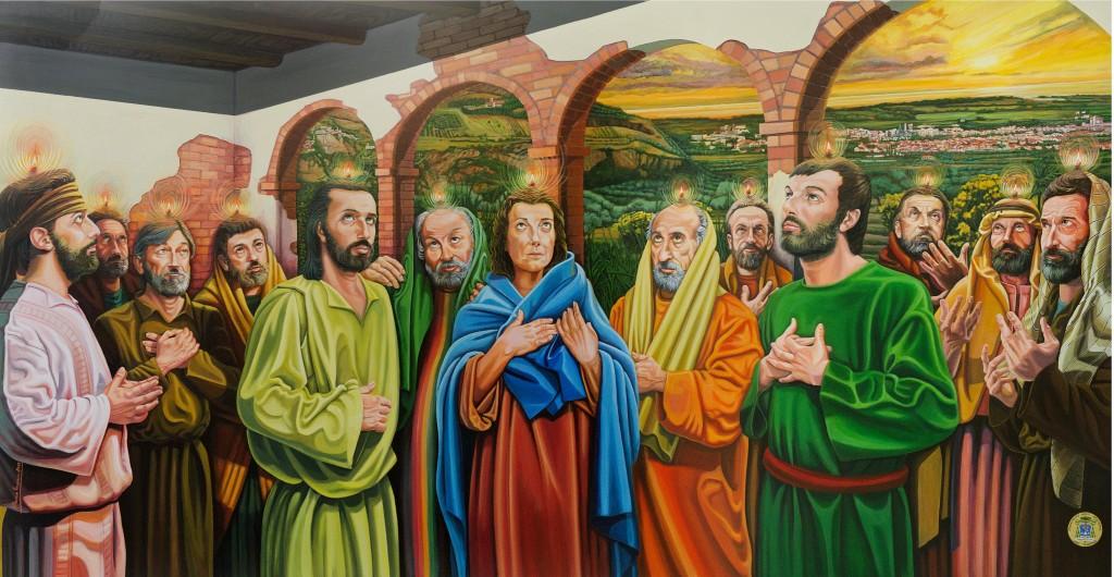 D'Acunzo ritrae Mons. Orofino. Martedì 15 maggio,  nella Cattedrale di Tursi, esposta l'opera  che ritrae il vescovo della Diocesi di Tursi-Lagonegro
