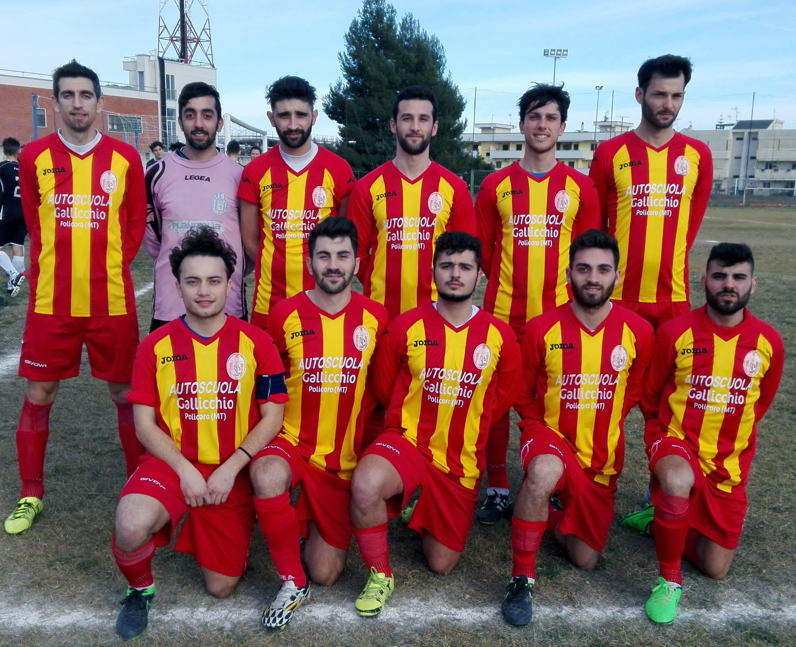 Terza di Promozione, a Scanzano J. la partita Tursi Rotondella - Miglionico