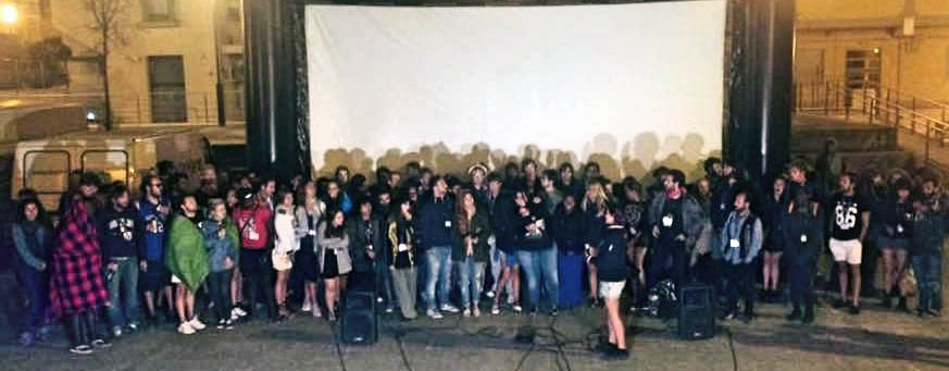 I giovani filmmaker salutano Matera