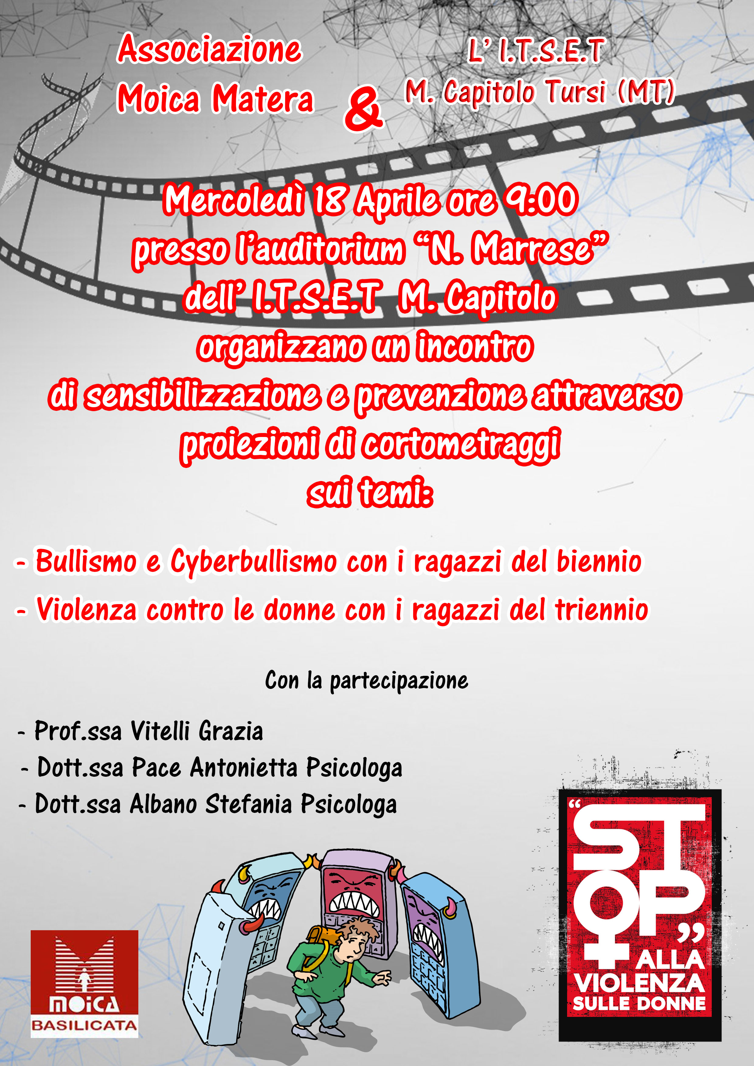 Bullismo e cyberbullismo - Tursi