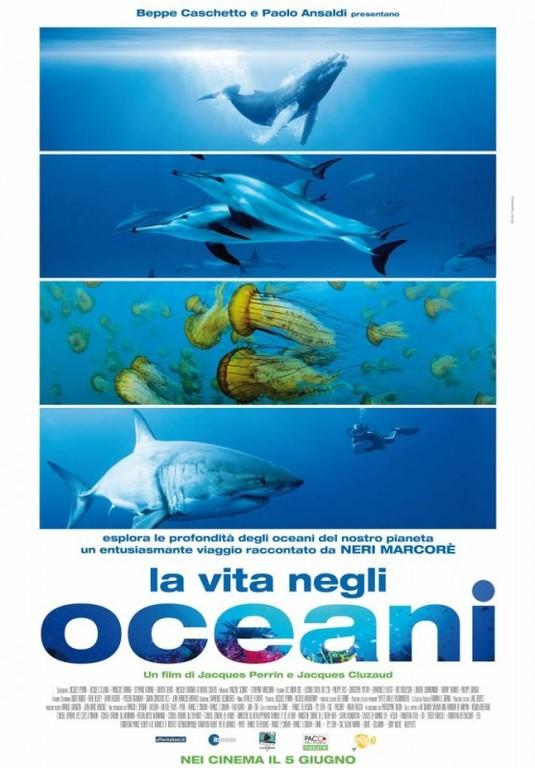 """A Paterno (PZ), nell'Istituto Comprensivo, venerdì 25 maggio, alle ore  9,30,  proiezione  del documentario """"La vita negli oceani"""