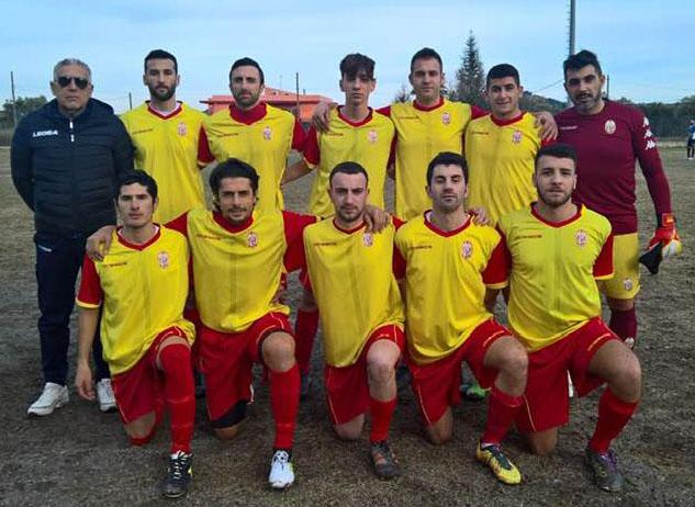 TURSI CALCIO 2008 - MONTESCAGLIOSO  2-1. Campionato di Prima Categoria, Girone B, 16a giornata, domenica 3 febbraio 2019