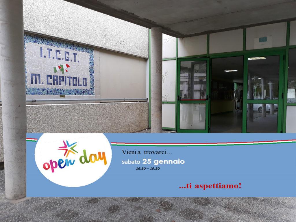 """Orientamento al """"Manlio Capitolo"""" di Tursi, scuola aperta ai genitori ed alunni di Terza Media, sabato 25 gennaio, ore 16,30 - 19,30"""