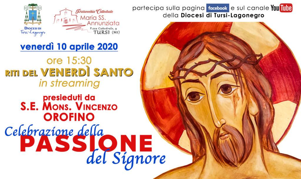 """Giovedì Santo - Messa """"in Coena Domini"""" in streaming dalla Cattedrale di Tursi (9 aprile, alle ore 19.30)"""