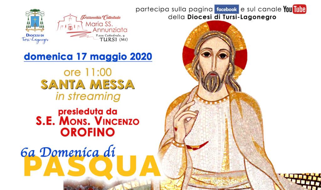 Mons. Vincenzo Orofino presiede la messa domenicale delle ore 11, in diretta streaming dalla Cattedrale di Tursi