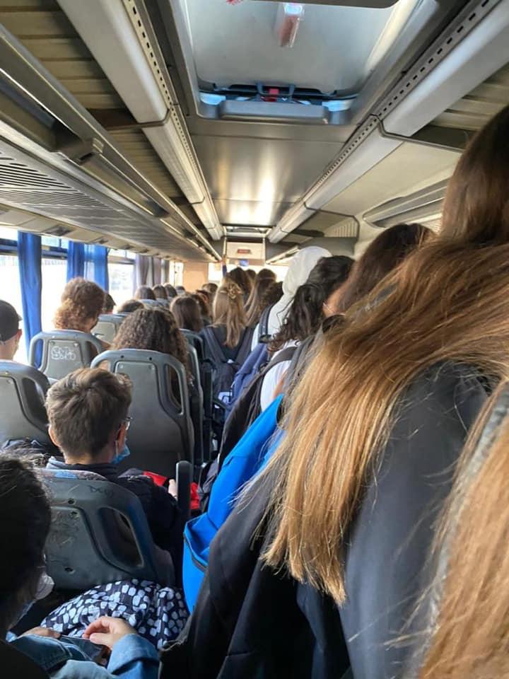 Sciopero generale degli studenti per la questione trasporti nella regione, venerdì 9 ottobre