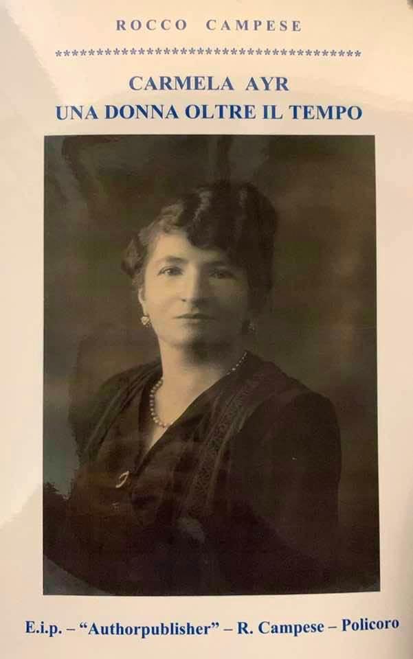 Carmela Ayr, professoressa, studiosa e poetessa, in un libro di Rocco Campese
